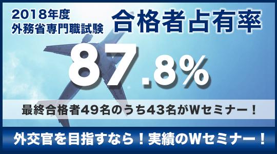 合格者占有率83.3%